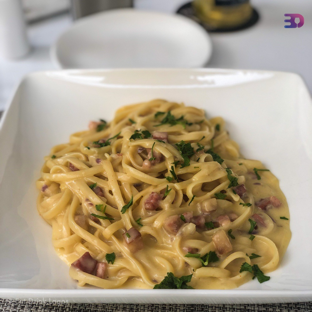 Linguini a la Carbonara