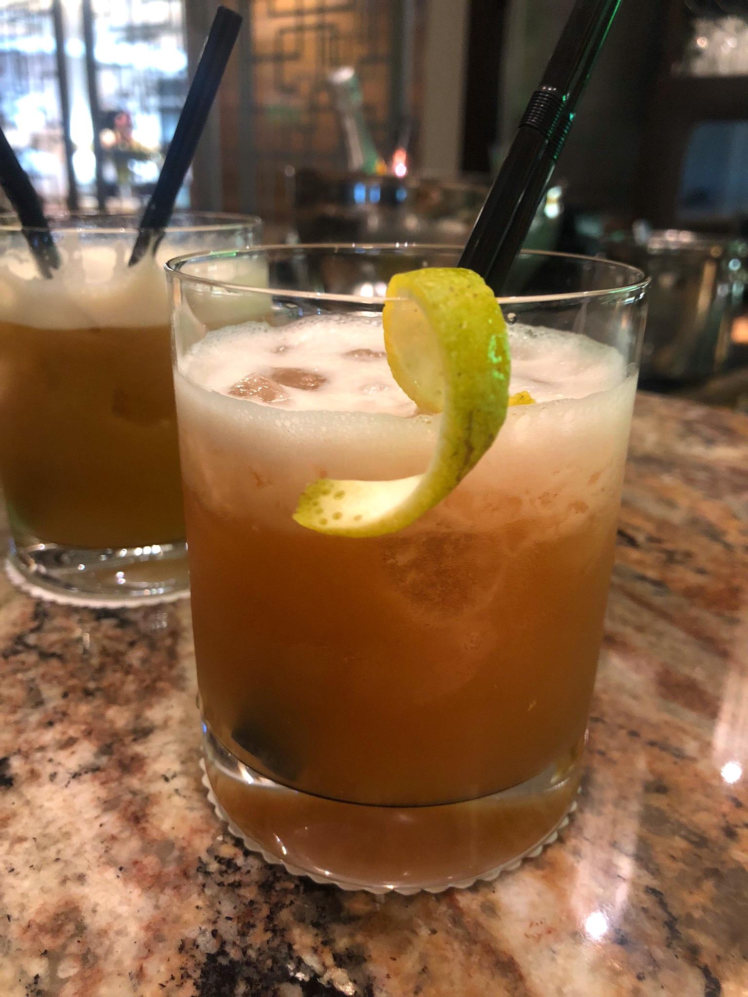 L-R: Primavera and Whiskey Sour
