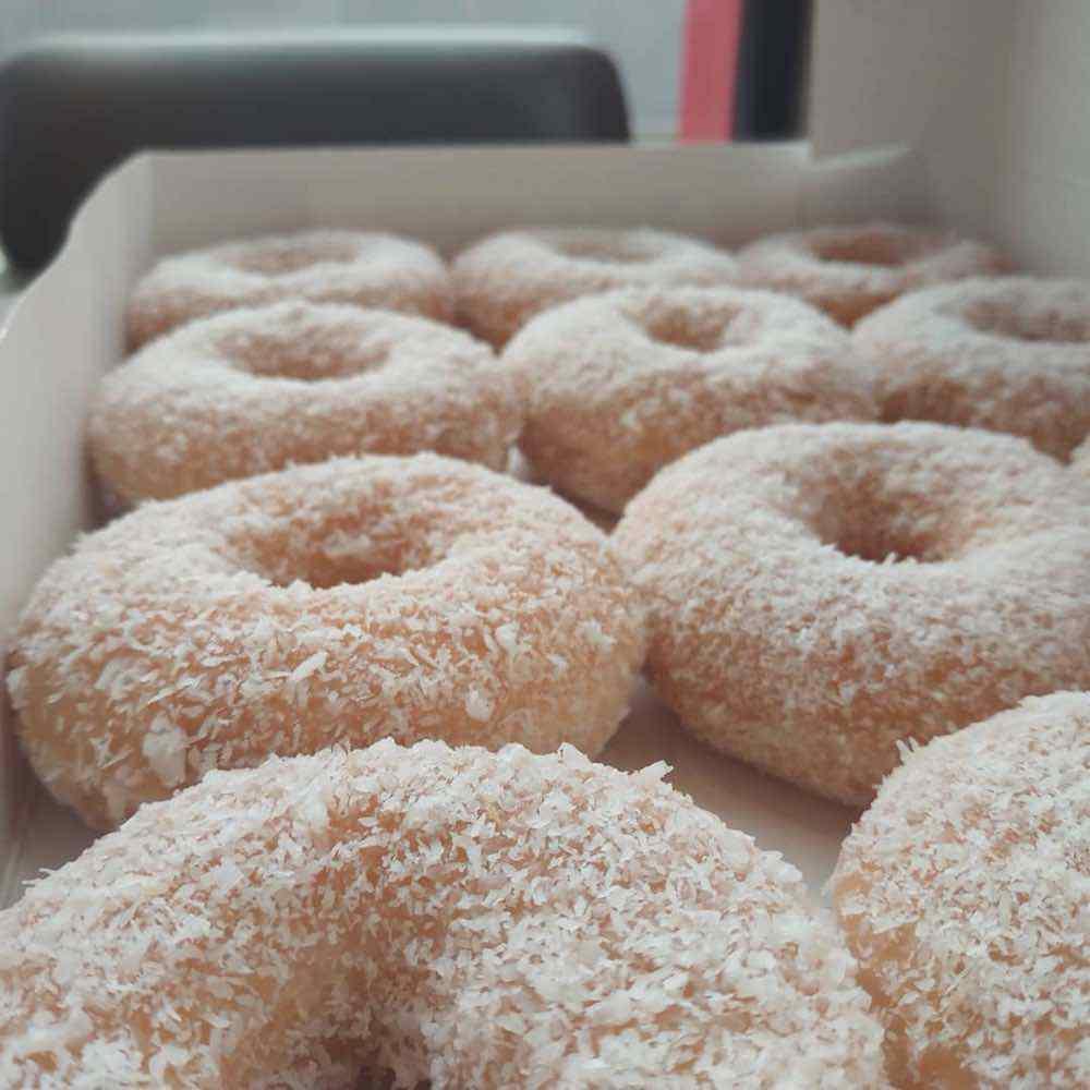 Coconut Ring Doughnut