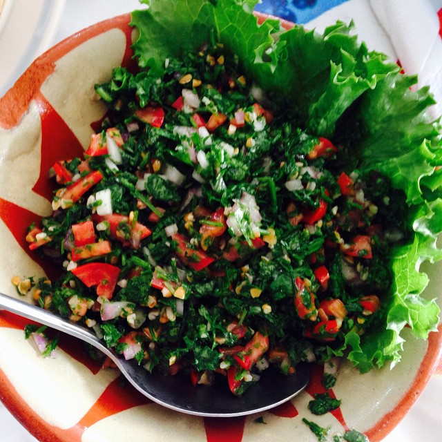 Tabouleh from  Syrian Club, Lagos