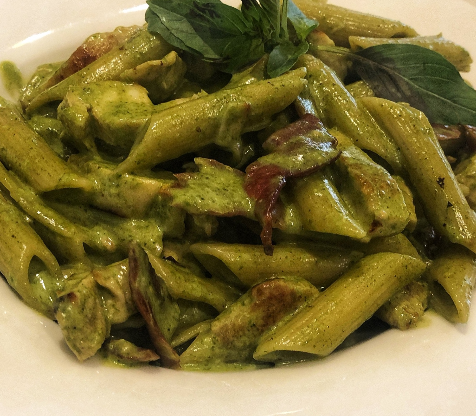 Chicken Pesto Pasta at Craft Gourmet