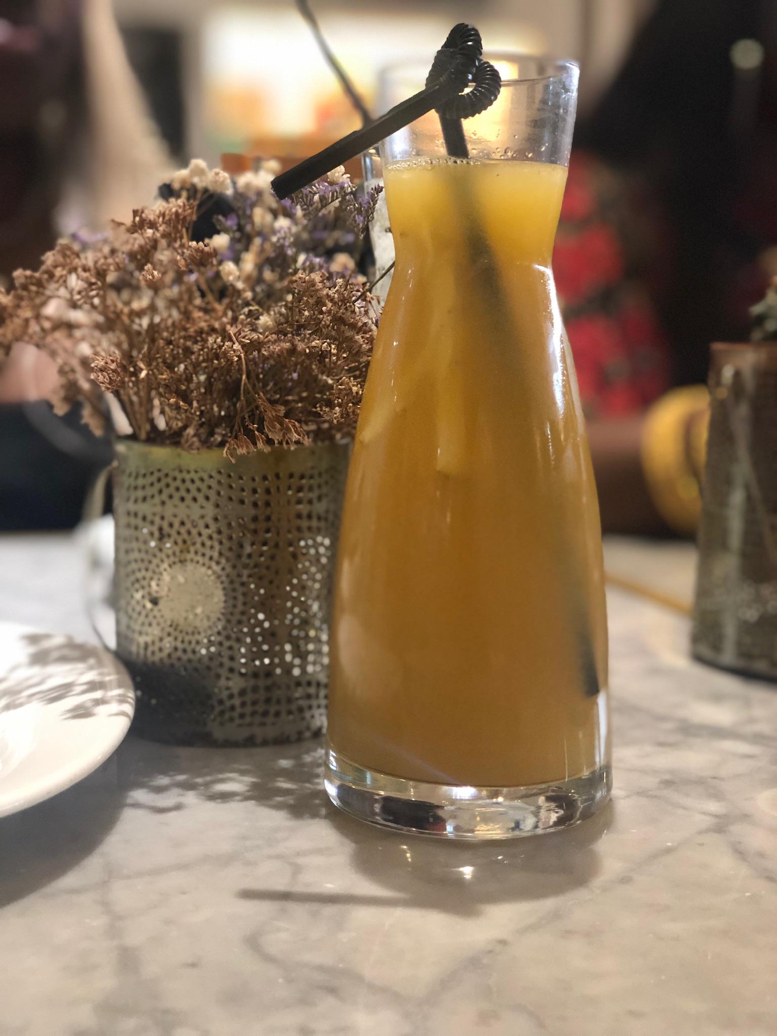 Ginger Citrus Iced Tea