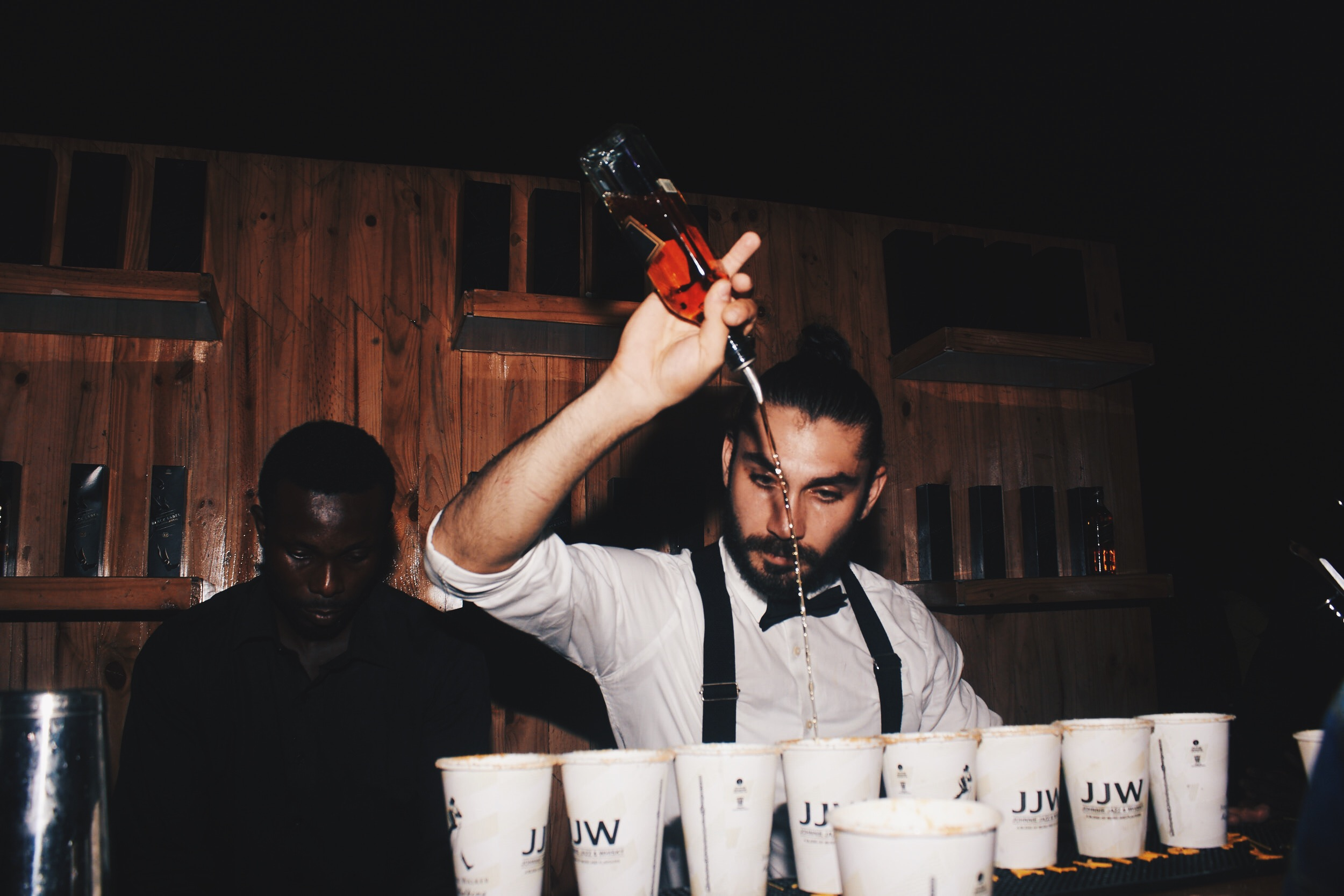 """- """"My dad is Armenian and Russian, and I think all of this might just be a cocktail in itself."""""""