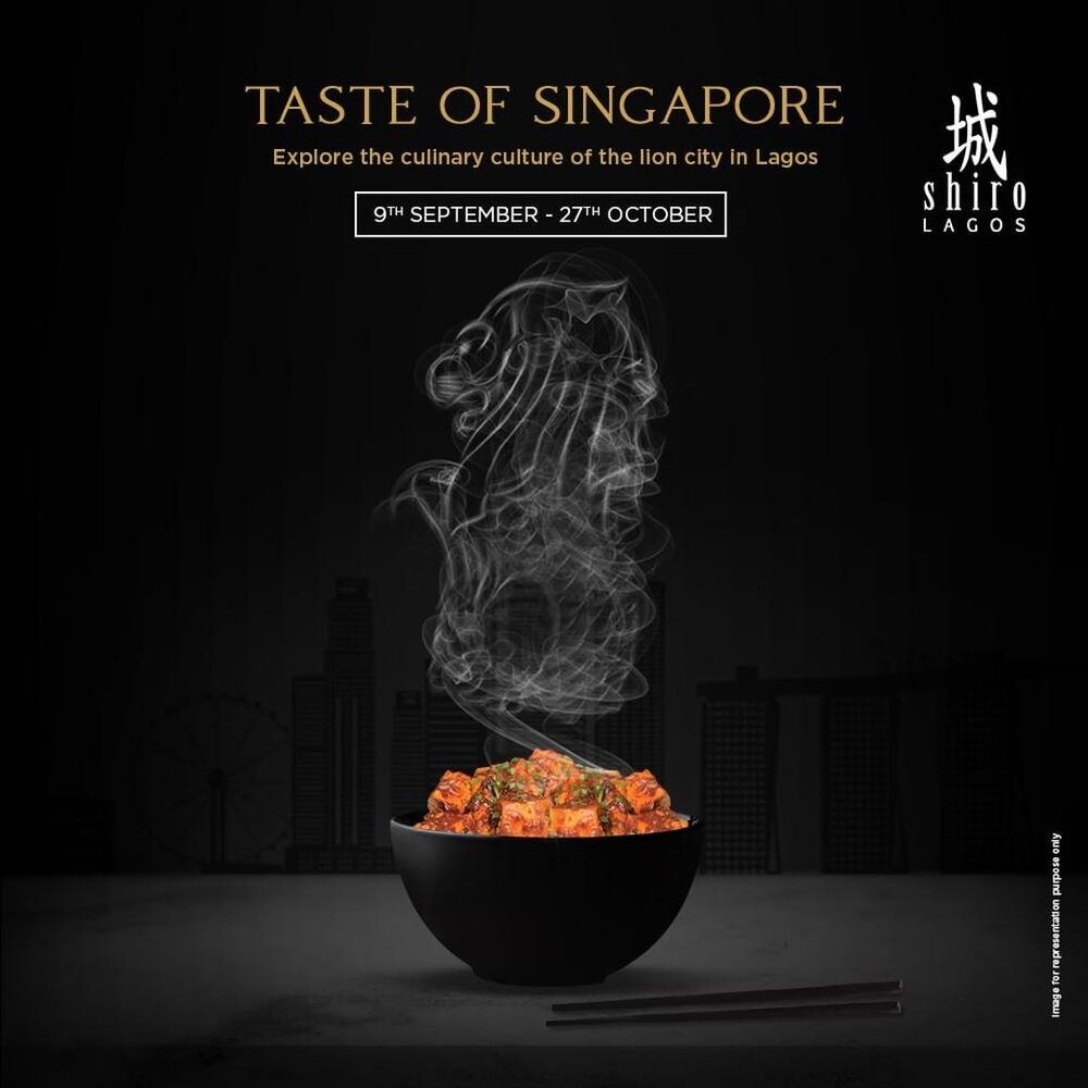 EAT: Taste Of Singapore - There's a new menu out at Shiro. It has a end date so it's definitely limited edition. We're definitely curious and feel it's worth checking.