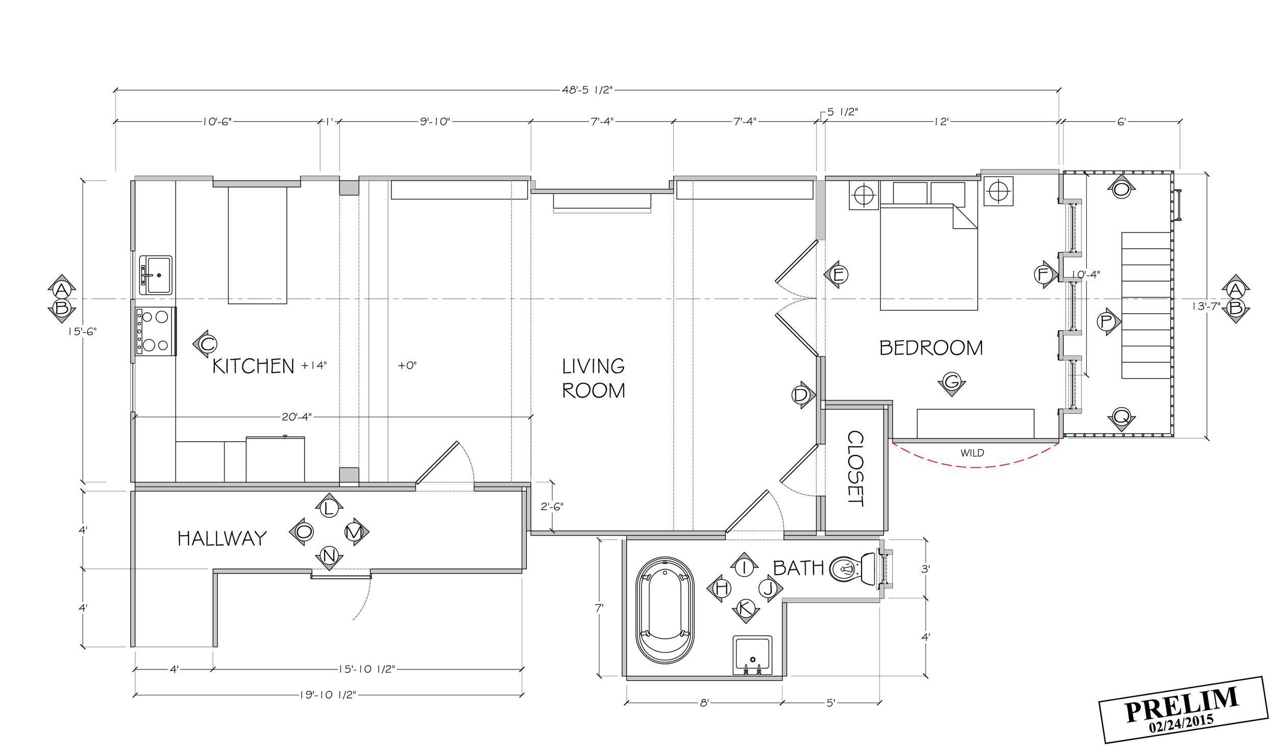 Dev's Apartment Floor Plan