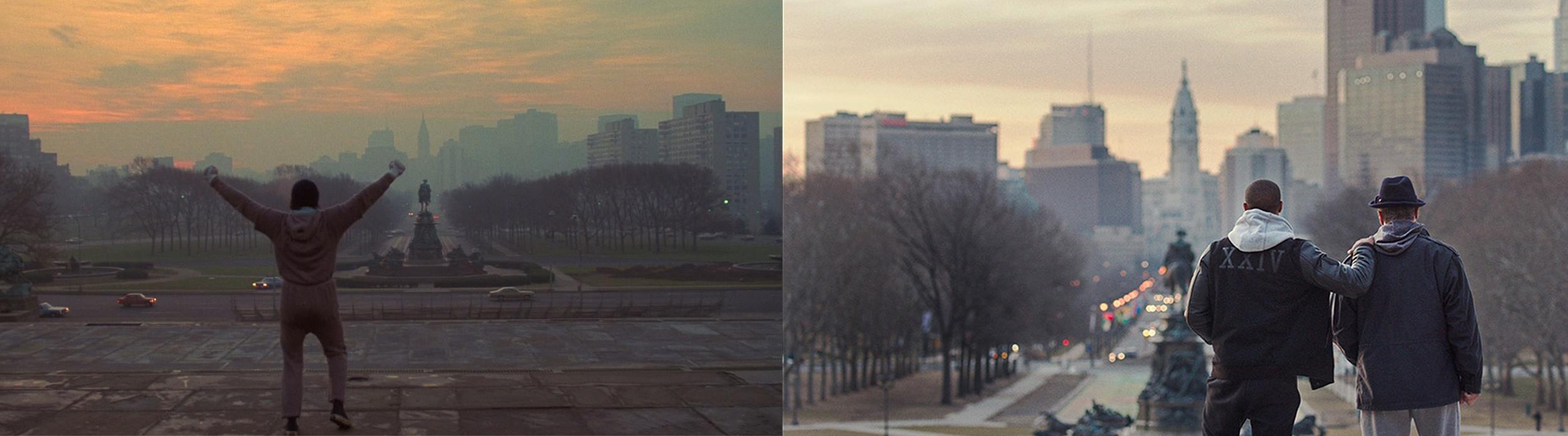 Rocky  (1976) vs.  Creed  (2015)