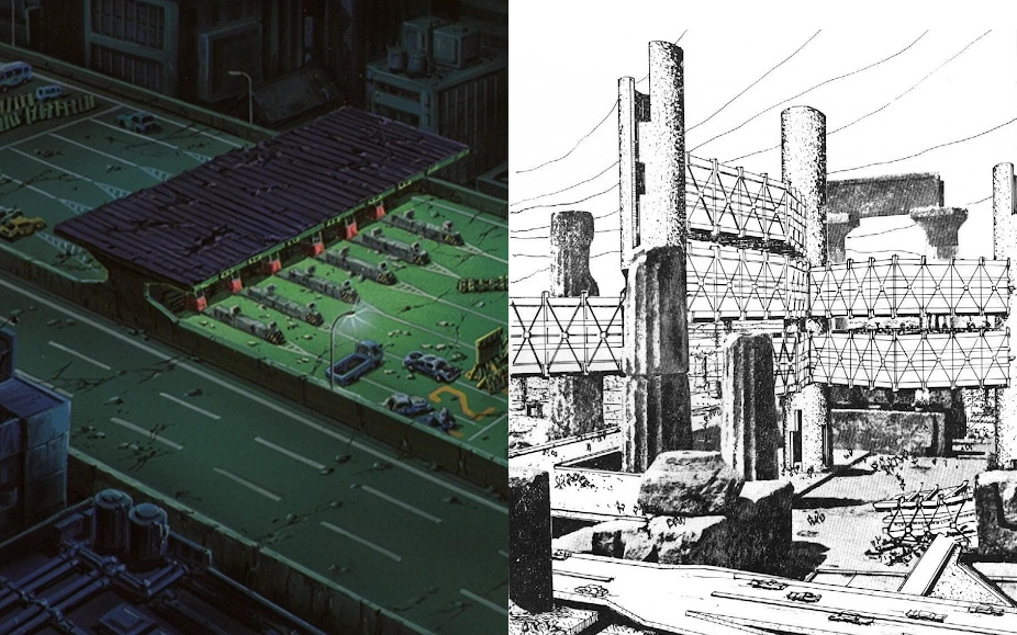 Mutations Megastructure Japanese Metabolism In Akira 1988 Interiors An Online Publication About Architecture And Film