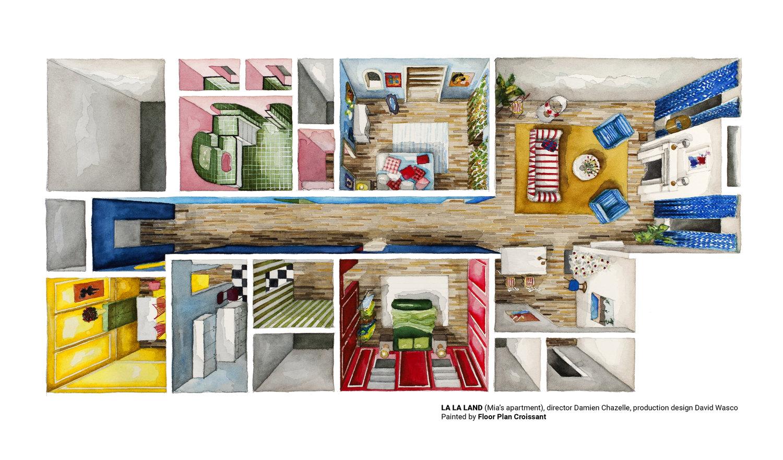 Floor Plan Croissant — Interiors : An