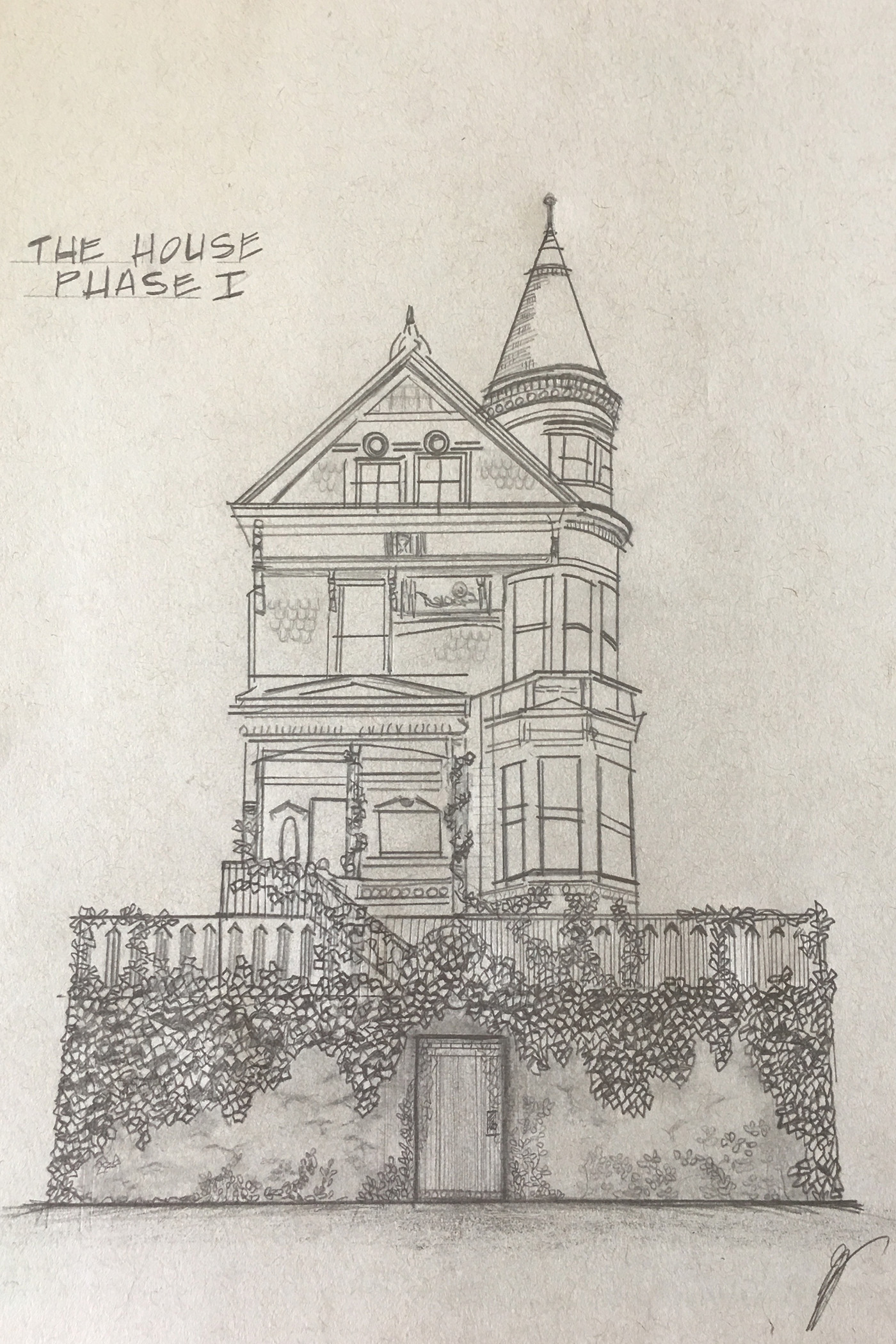 """THE HOUSE"" - SKETCH"