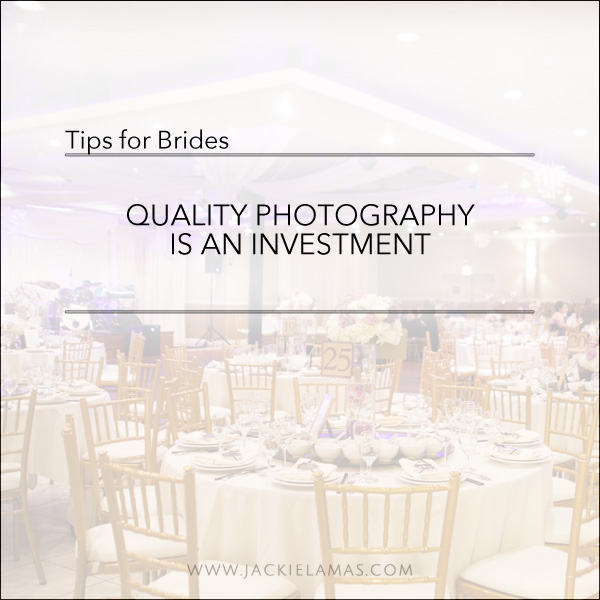 invest in quality photography