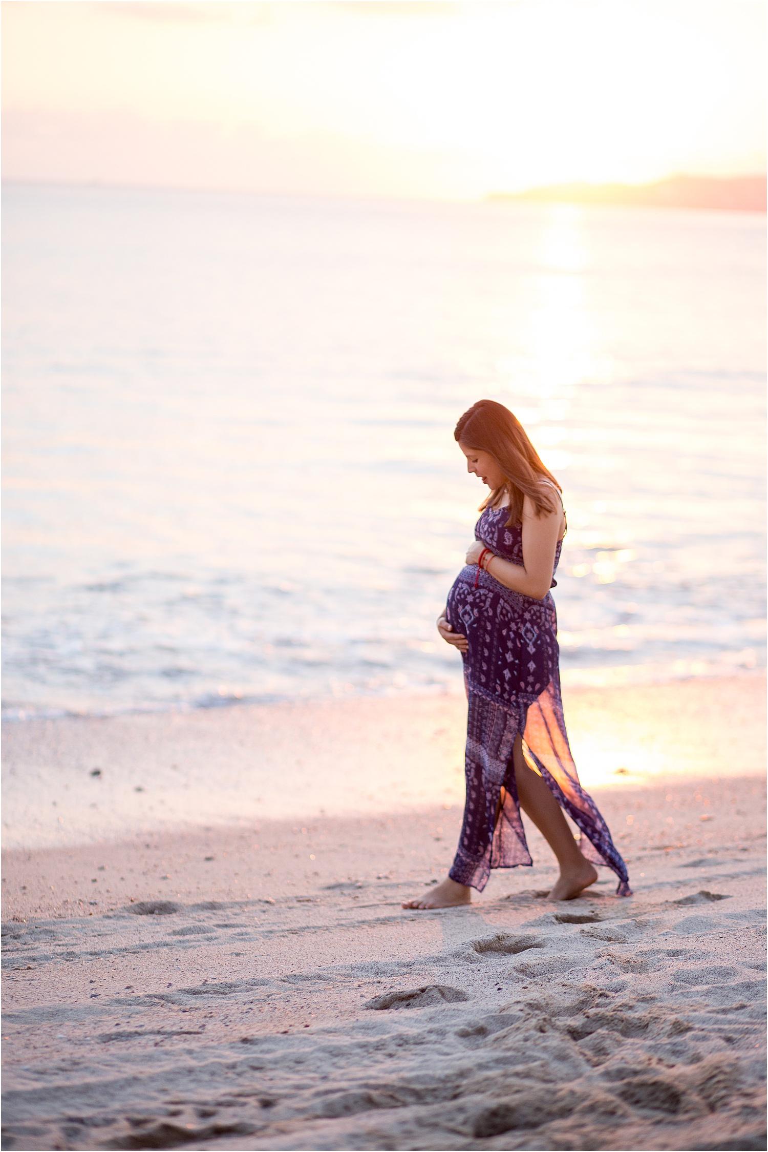 maternity-beach-sunset-photos
