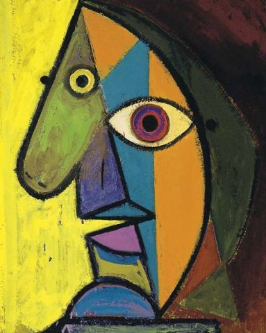 Work by Picasso. Just in case you thought it was mine.