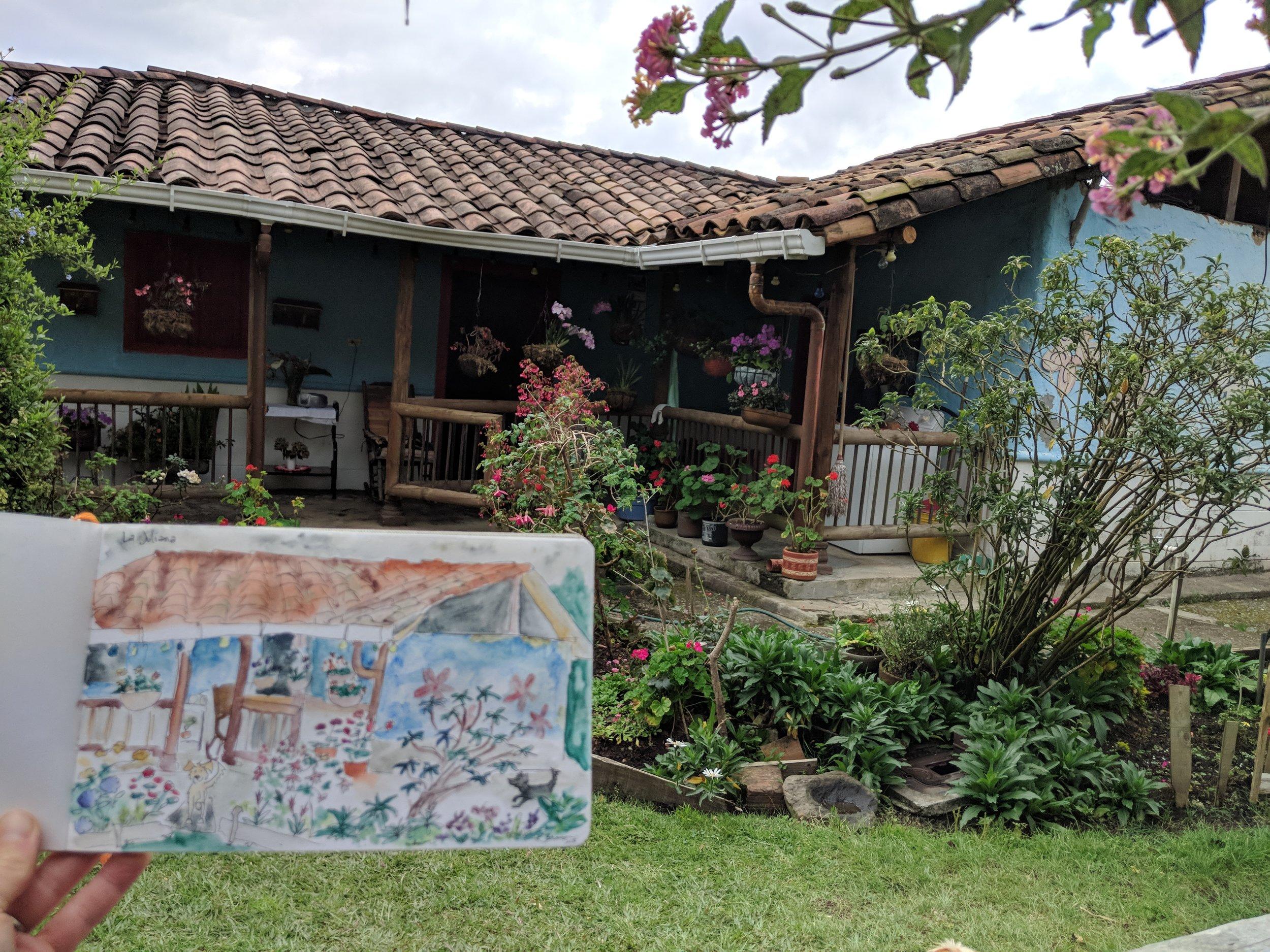 watercolor-finca-parque-arvi-medellin-colombia