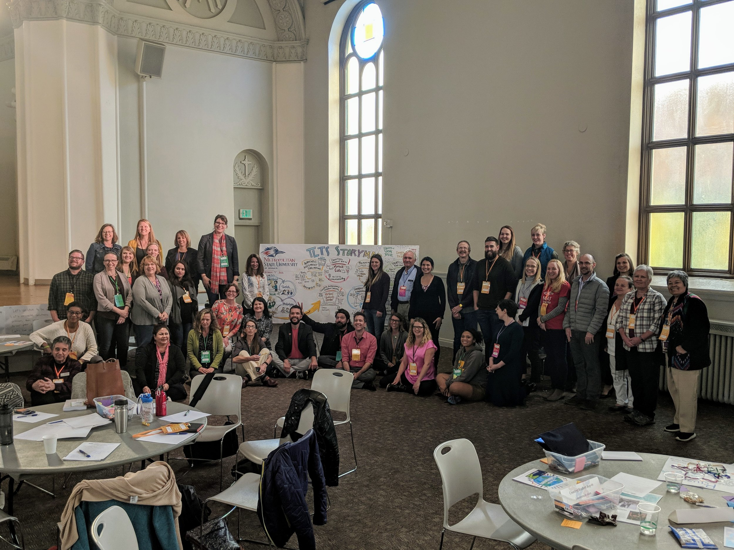 Technology and Higher Education at Metro State:  Creating a Story Map of the outcomes of a Teaching and Learning with Technology Symposium where teams shared prototypes and offered feedback to leverage tech to enhance learning in higher education.