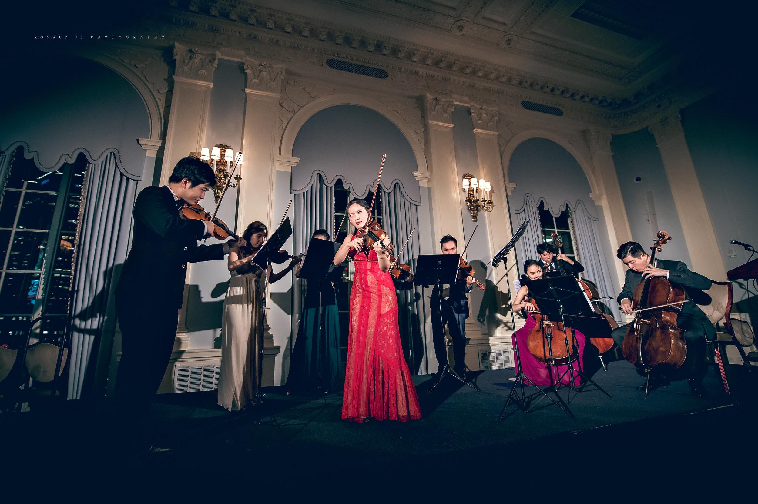 Vivaldi Winter at New Asia Chamber Music Society's Annual Gala in 2016 (photo by Ronald Ji & Ashley Chui)