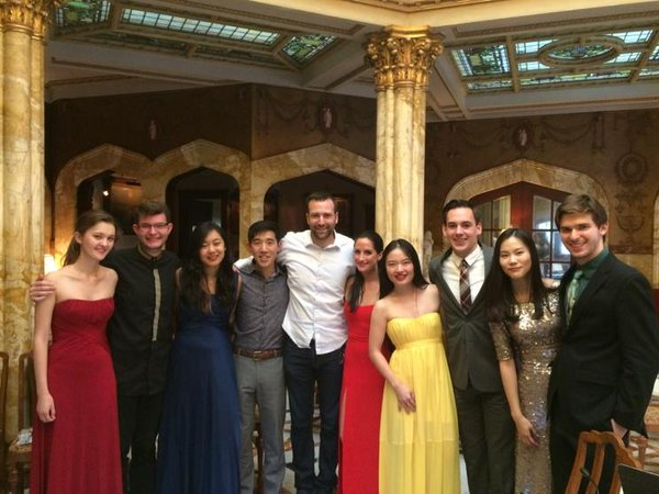 Project Amadeus at Doheny Mansion with California senator Ben Allen