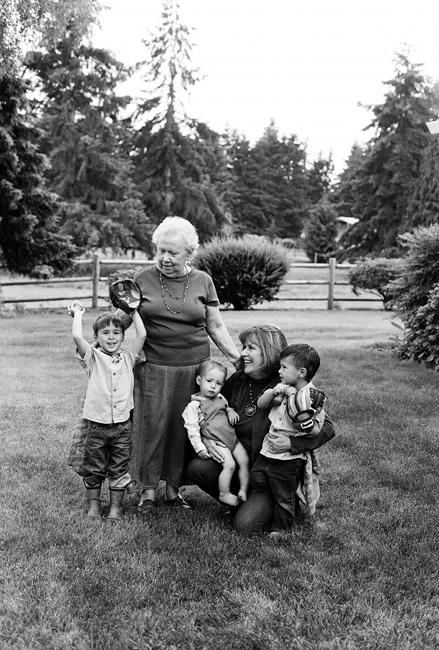 grandma family photography exhibition by Portland photographer Linnea Osterberg