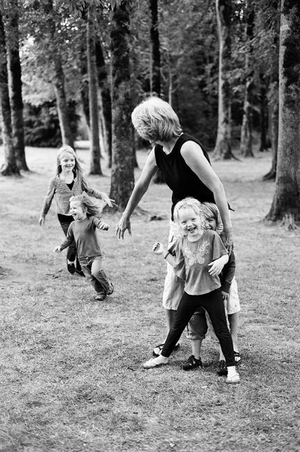 family portraits photography exhibition by Portland photographer Linnea Osterberg