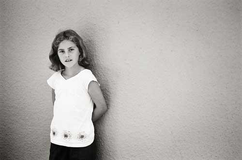 girl portrait by Portland photographer Linnea Osterberg