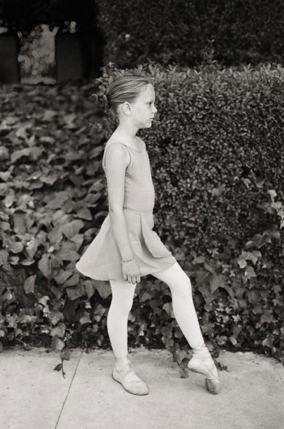 dancer girl photograph by Portland photographer Linnea Osterberg