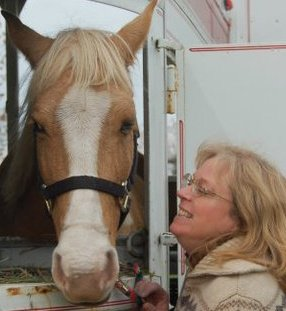 Tranquility Postpartum Support Seattle Edmonds Kathy Wilson and her horse