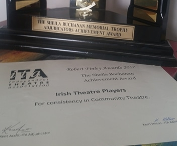 Consistency in Community Theatre 2017 - 43rd Annual Robert Finley AwardsConsistency in Community Theatre