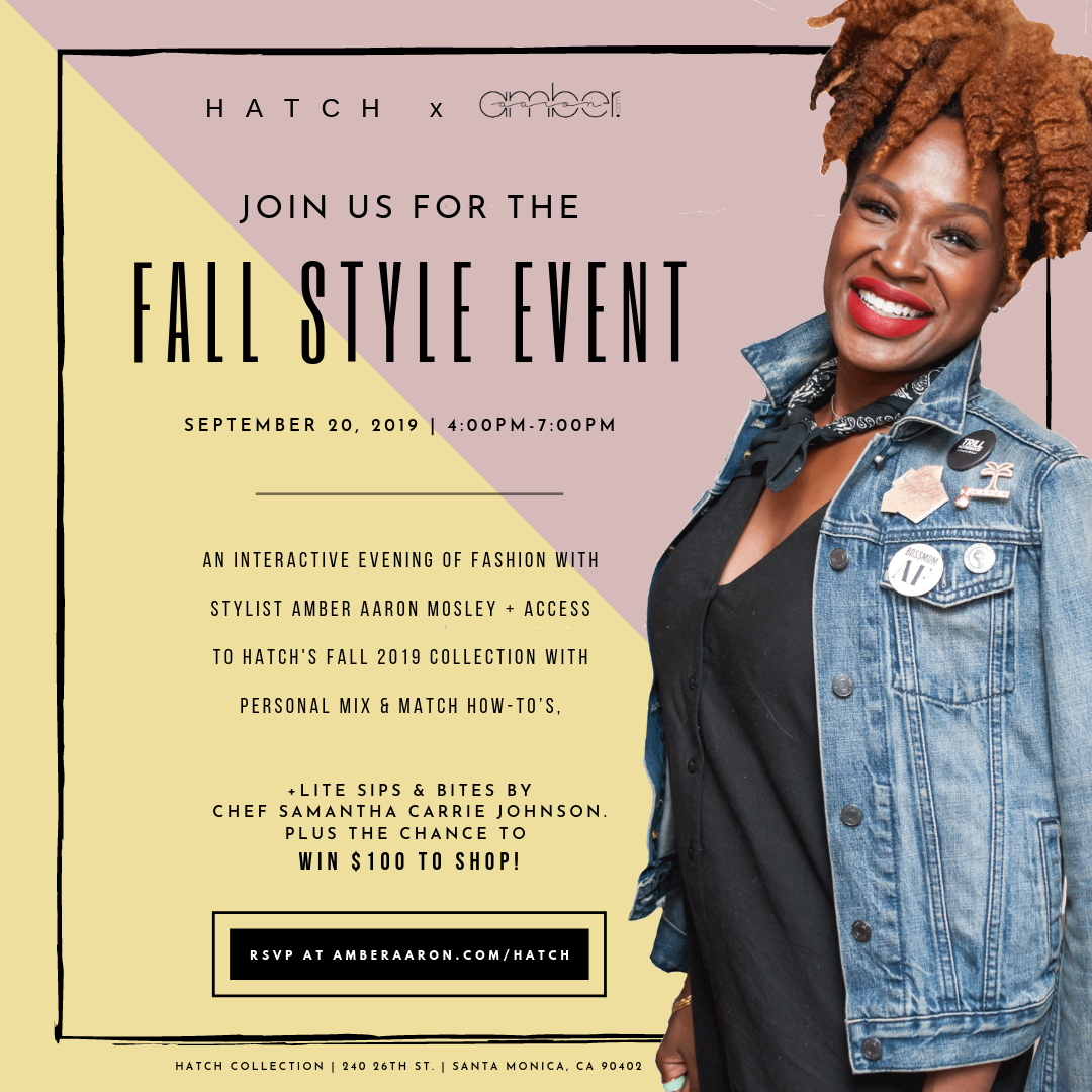 Hatch Fall Style Event