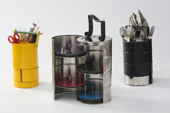 The Young India Collection Trio: Stationery Dabba / Music Dabba / Cutlery Dabba