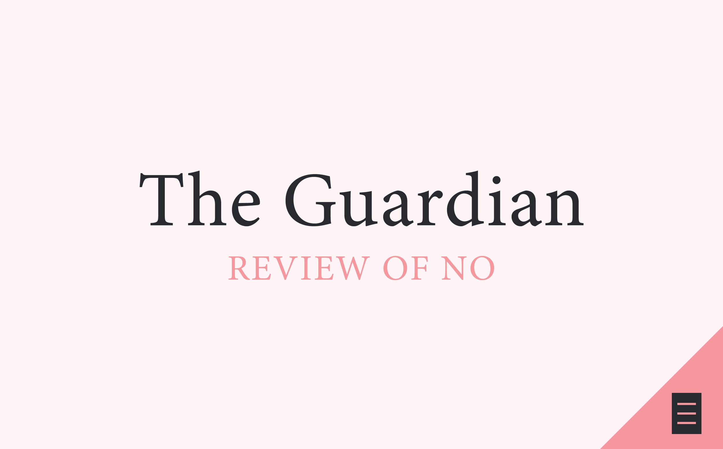 the guardian, the heart, review of no