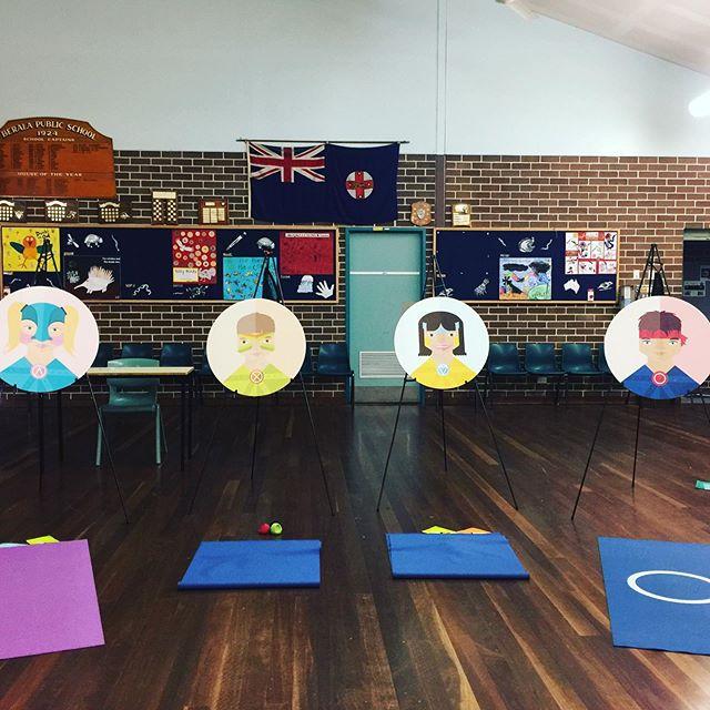 Yoganauts ready to launch! #healthykids #australianschools #yoganauts
