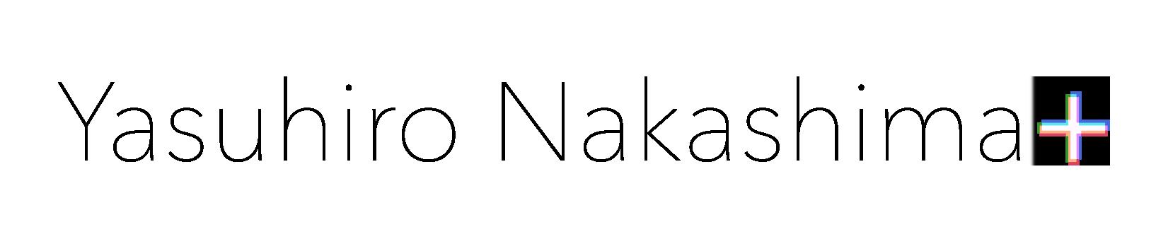 「Yasuhiro Nakashima+」ロゴイメージ