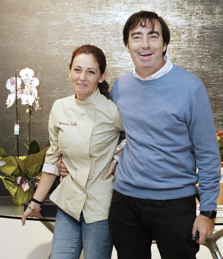 Alessandra Civilla e Alessandro Libertini