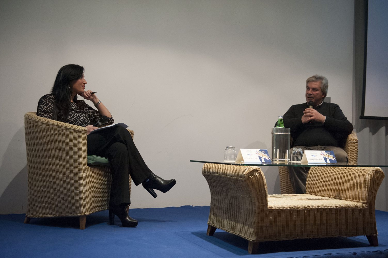 Lucia Portolano e Francesco Barba