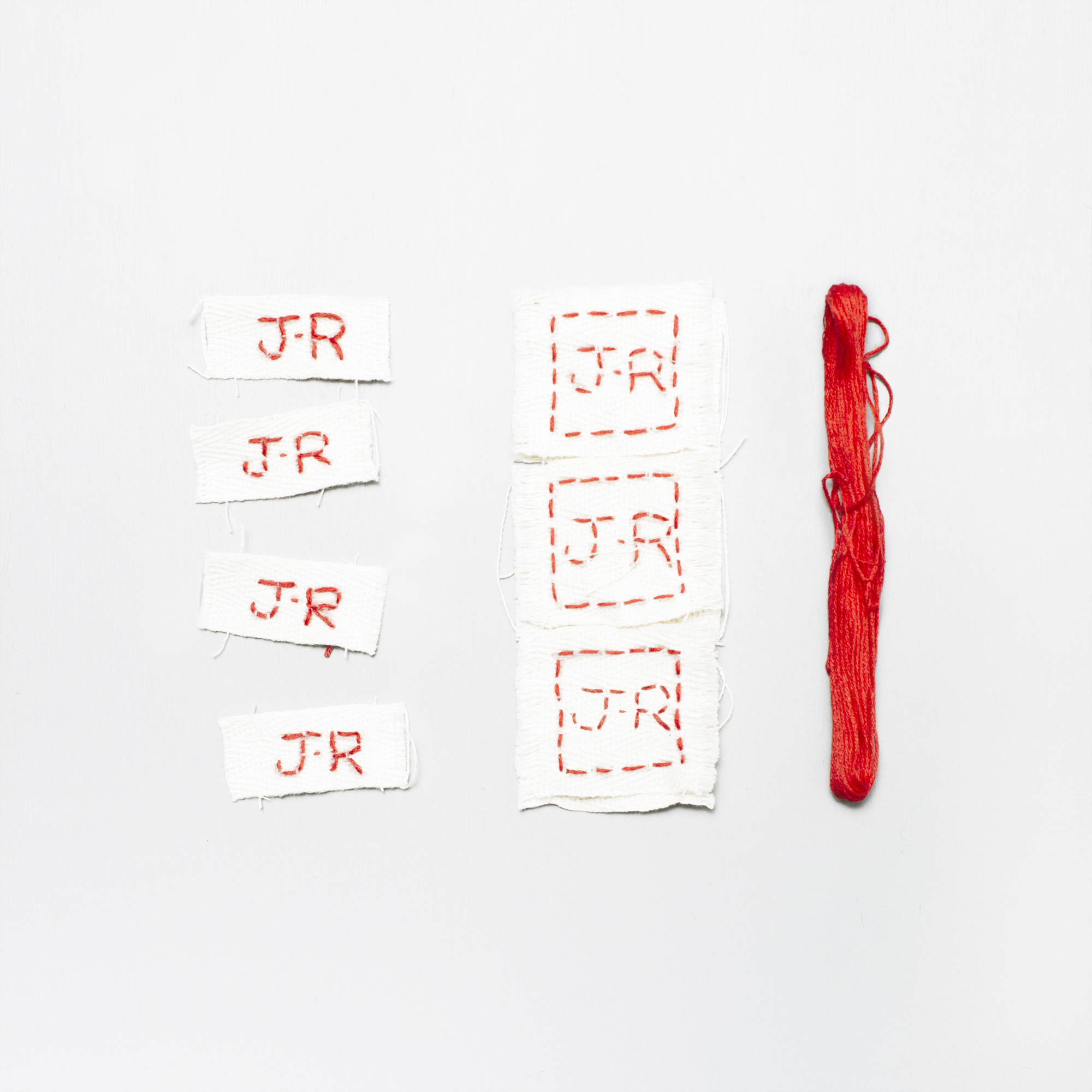 Jane Reiseger - clothing tags