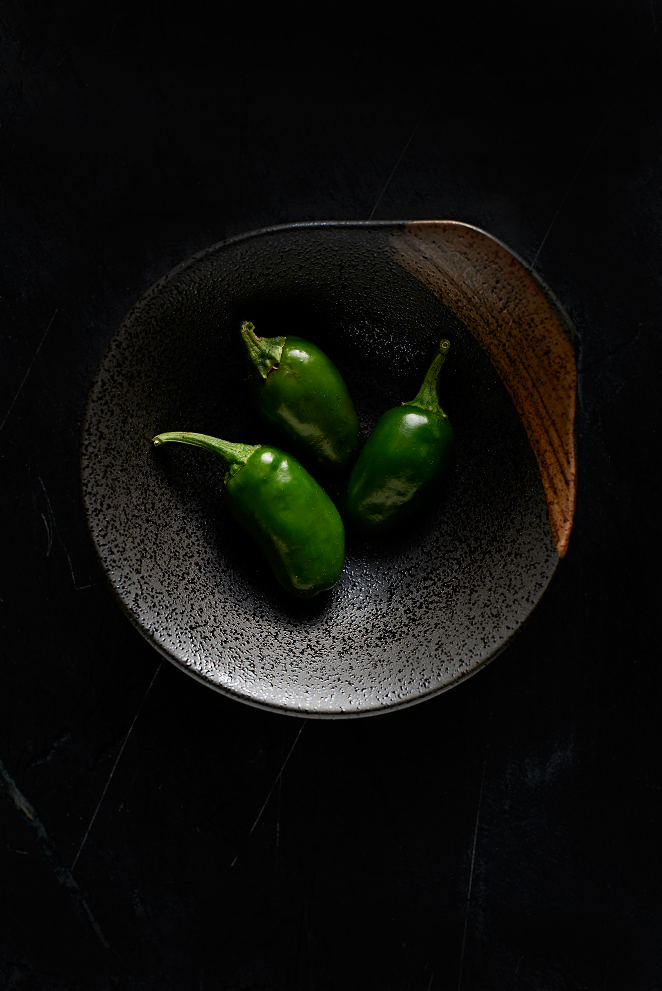 Jalapenos + bowl