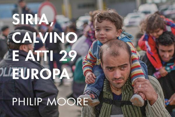 Siria, Calvino e Atti 29 Europa