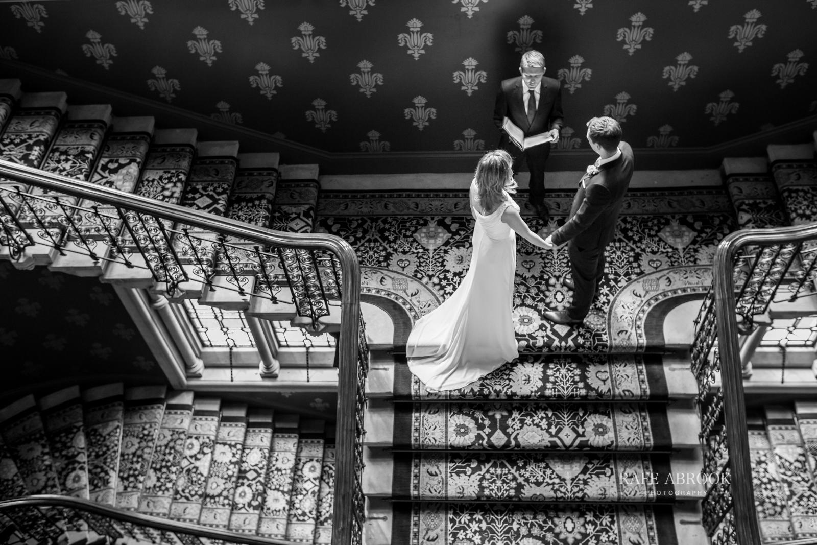 wedding photographer hertfordshire london st pancras renaissance hotel station grand staircase-1067.jpg