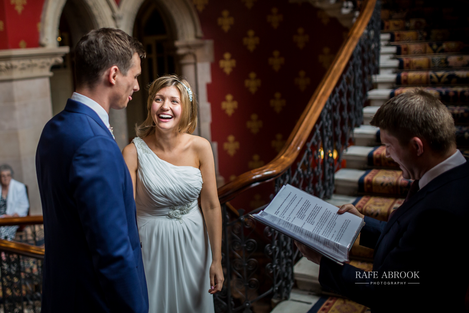 wedding photographer hertfordshire london st pancras renaissance hotel station grand staircase-1079.jpg