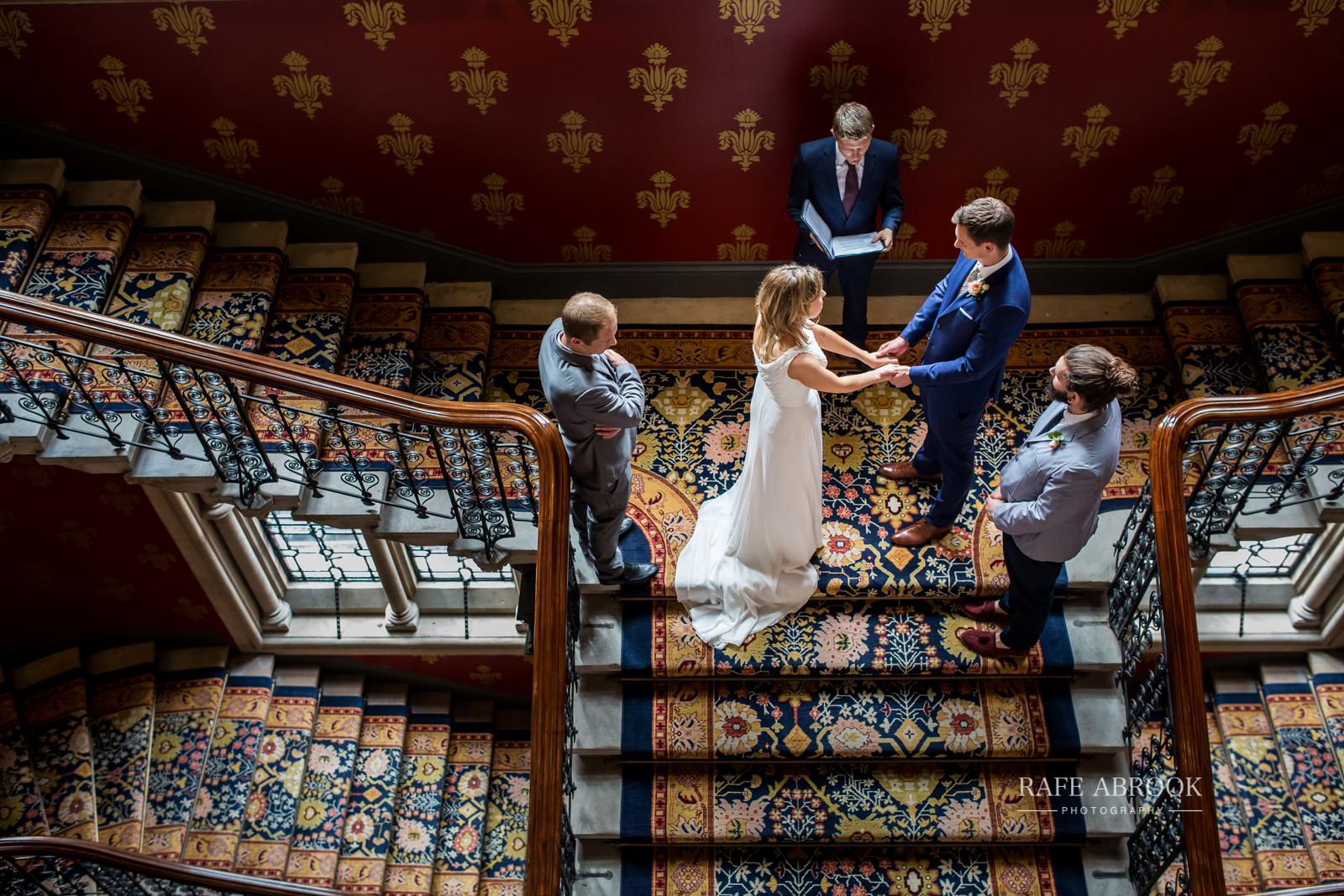 wedding photographer hertfordshire london st pancras renaissance hotel station grand staircase-1084.jpg