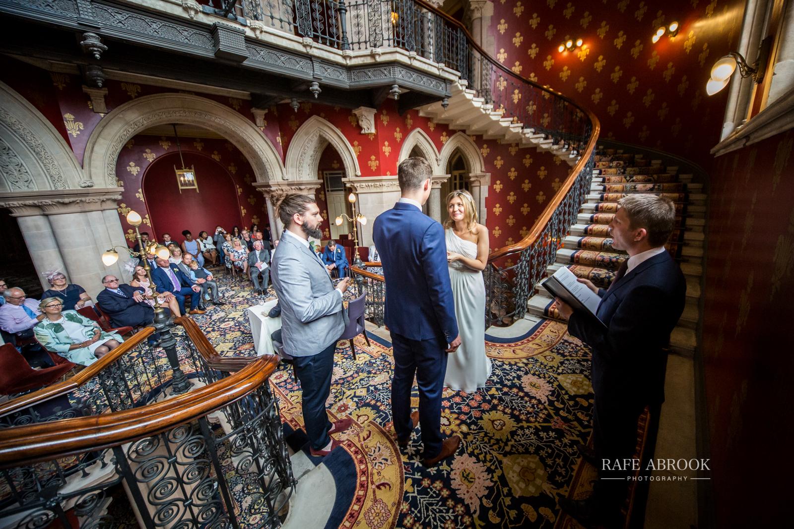 wedding photographer hertfordshire london st pancras renaissance hotel station grand staircase-1087.jpg