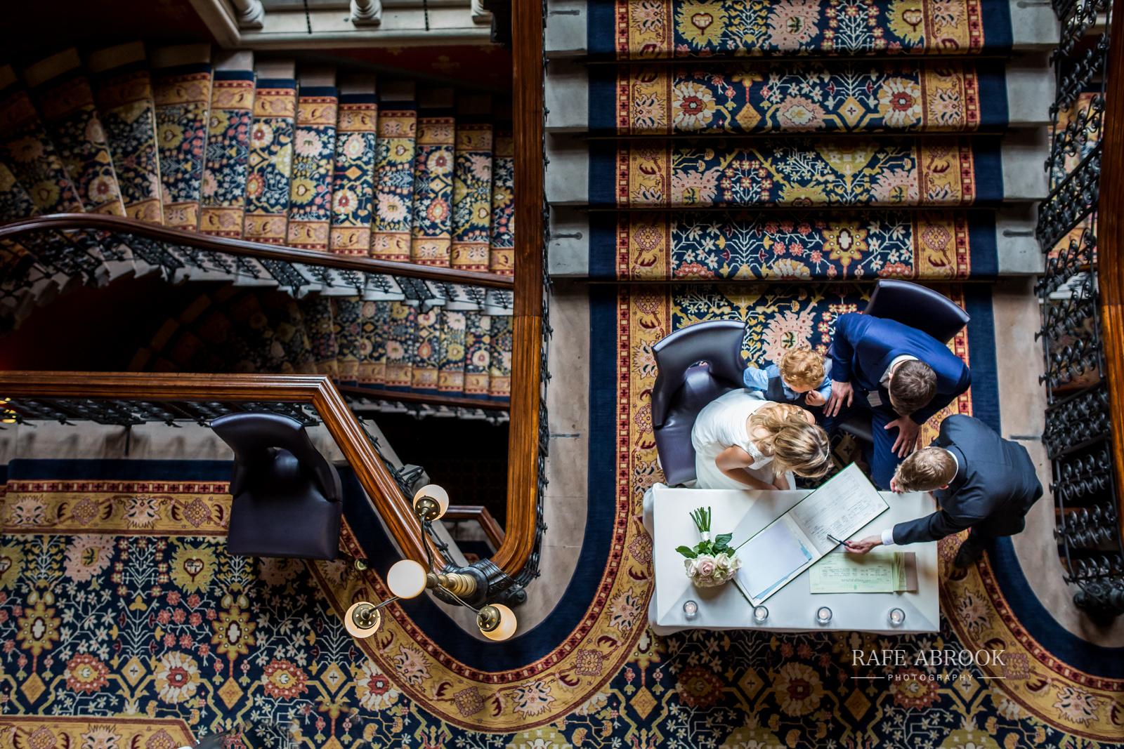 wedding photographer hertfordshire london st pancras renaissance hotel station grand staircase-1096.jpg