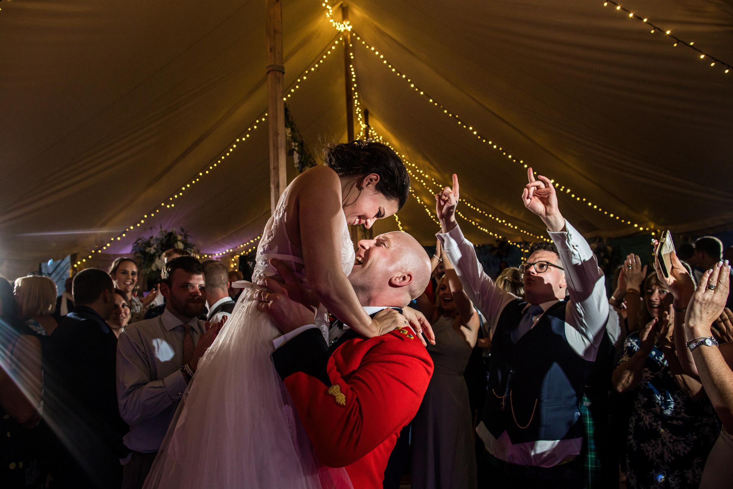 Military Wedding at Lodge Farm House