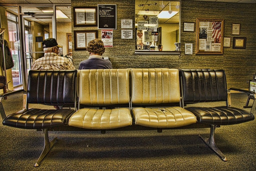 Trip To The Doctor's Office #1--The Waiting Room  by Carol Von Canon