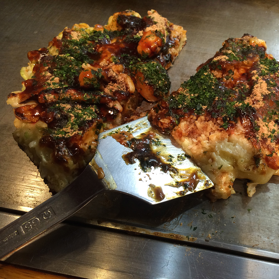 MOUTHFUL-O-OKONOMIYAKI