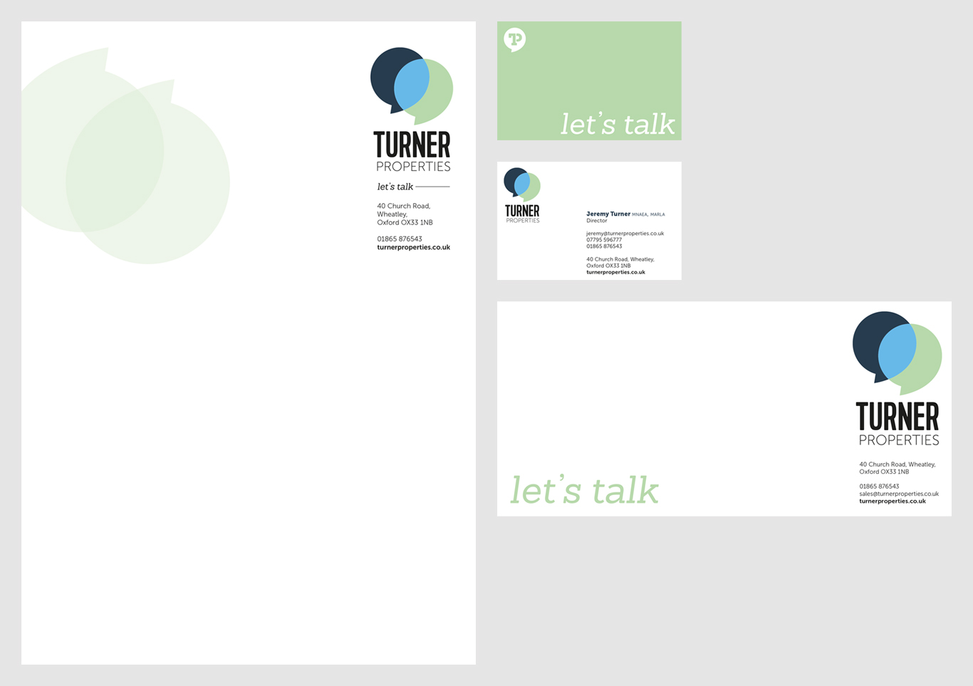 Turner Properties Stationery