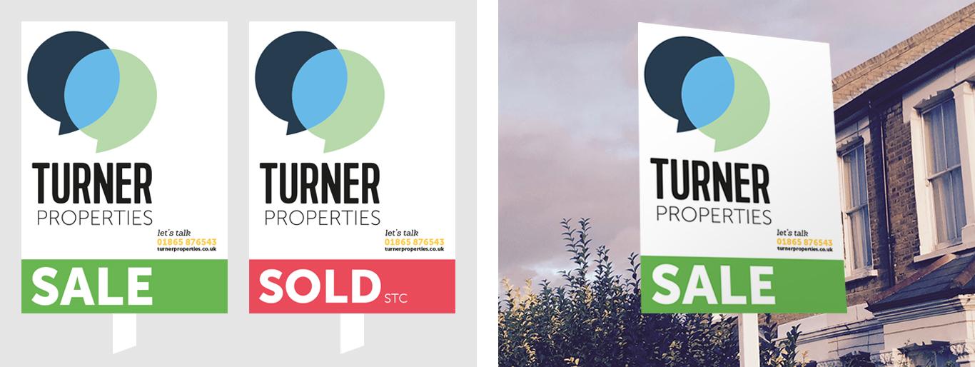 Turner Properties sale boards