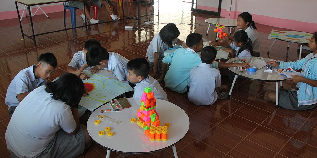 Students participating in project Based Learning: Kodjaman