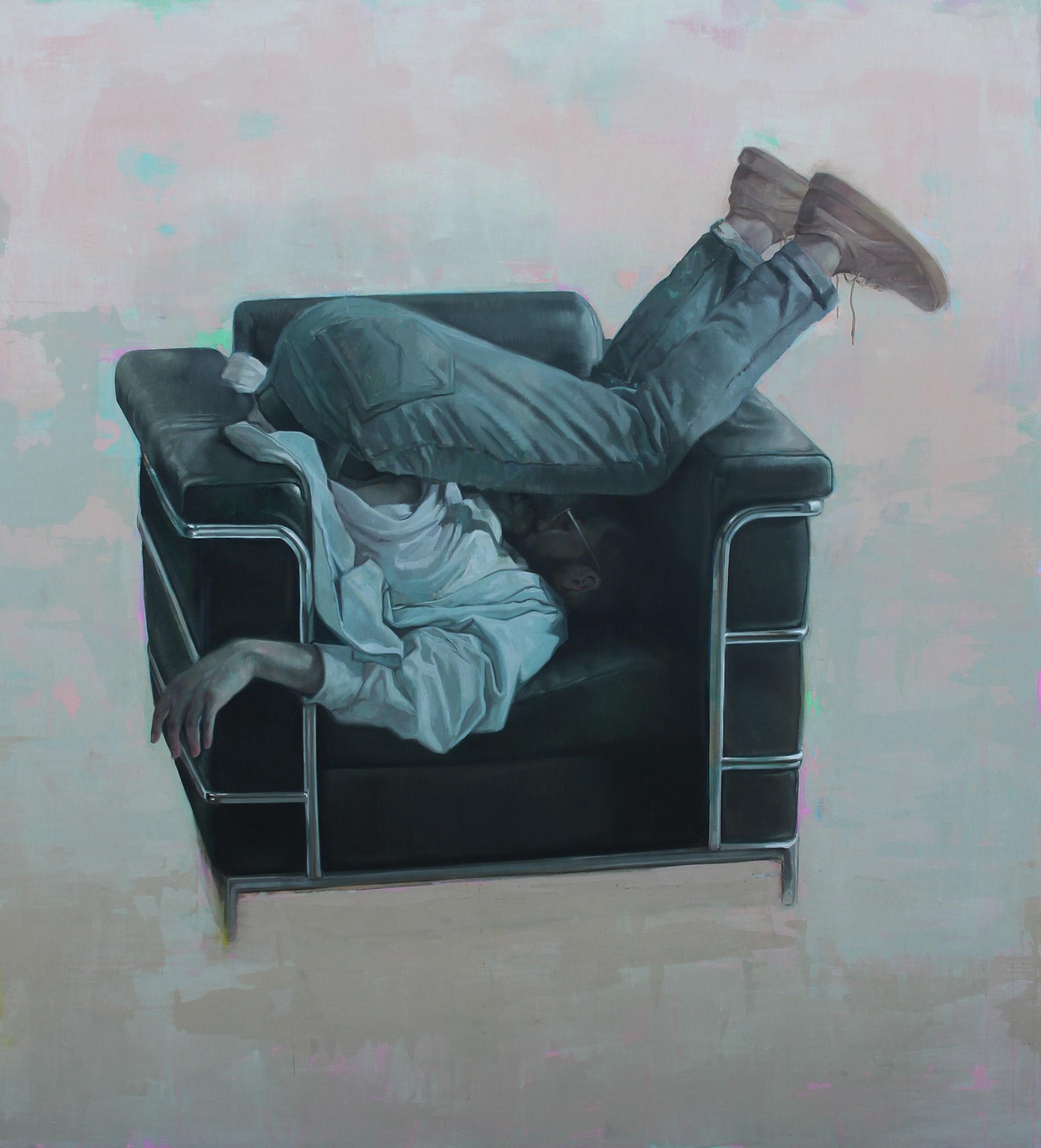 Alterado. Oil on Canvas. 60x65.5 inches. 2019