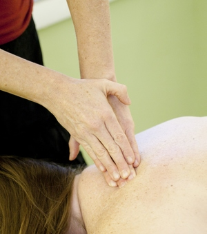 Myofascial release with gentle, yet effective strokes