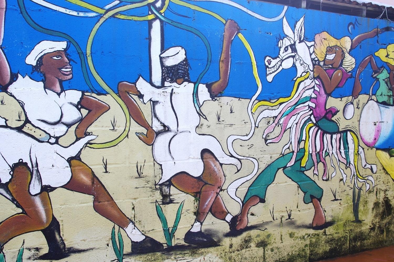 Bajan street art